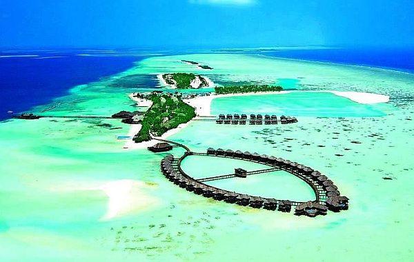 картинка фотография курорта Южный Мале, aтолл на Мальдивах